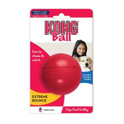 Kong ball rouge   Medium/Large