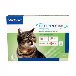 Virbac Effipro Duo S/O Chat...