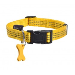 Collier Safe Jaune Bobby