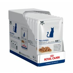 Royal Canin Vet Care Nutrition Cat Neutered Weight balance   12 x 100 g