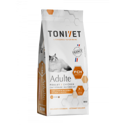 Tonivet Chat Adulte Poulet 1,5kg